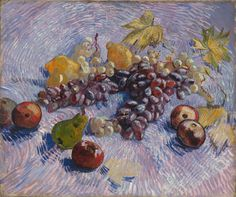 Grapes, Lemons, Pears, and Apples: Vincent van Gogh, 1887 | The Art Institute of Chicago.