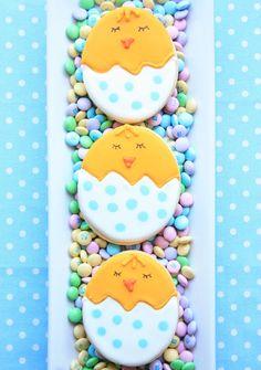 Munchkin Munchies: Spring Chick Cookies