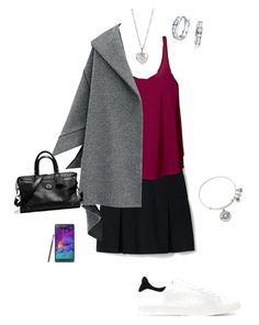 """OOTD 22/09/2016"" by ladykbaez on Polyvore featuring Lands' End, prAna, IRO, Alex and Ani, Samsung, Bling Jewelry, Coach and Finn"