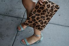 leopard and mint