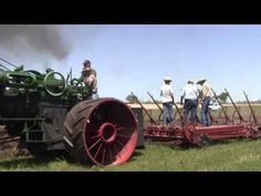 The Oklahoma Steam Threshers Association 75 HP Case plowing, Pawnee Oklahoma