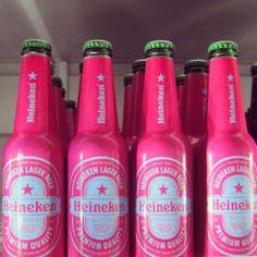 pink heinekens