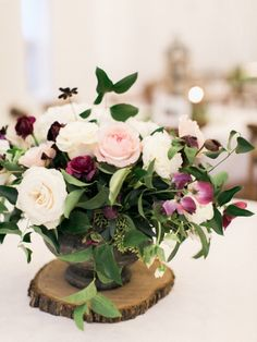Gallery - Bright White and Deep Purple Wedding