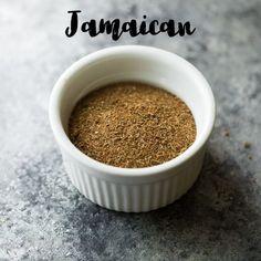 Jamaican Jerk Seasoning recipe mixed up in a bowl