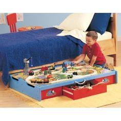 Secondary Bedroom | Train room, Room and Dresser