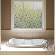Gila 36 in. W x 78 in. H Privacy Control Frosted Lattice Window Film-50188238 - The Home Depot