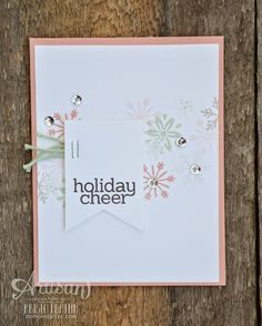Stampin' Dolce: unconventional christmas cards - artisan design team blog hop