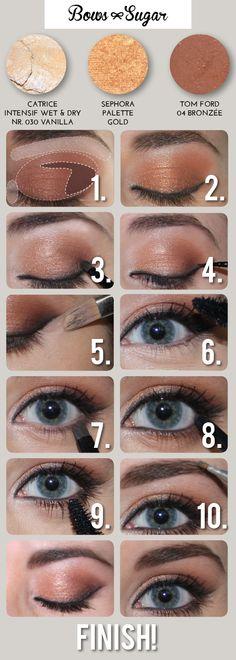 Autumn make up tutorial