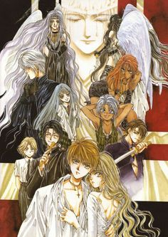 Angel Sanctuary by Kaori Yuki (VIZ Media) So far for me, 38 chapters°^°