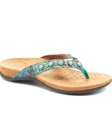 312f995e3 Vionic® with Orthaheel® Technology Floriana Snake Sandals