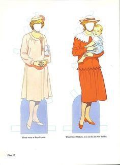 Fotografías Muñecas | Muñecas, muñecas de imágenes fotografías  Lady Diana & William