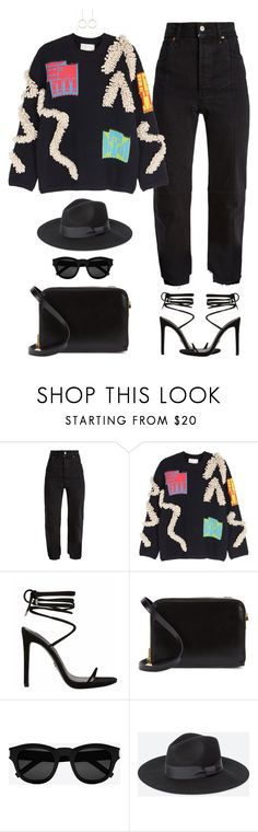"""""""She's a Leo"""" by xoxomuty on Polyvore featuring Vetements, Peter Pilotto, Sophie Hulme, Yves Saint Laurent, Uniqlo, ootd and polyvoreOOTD"""