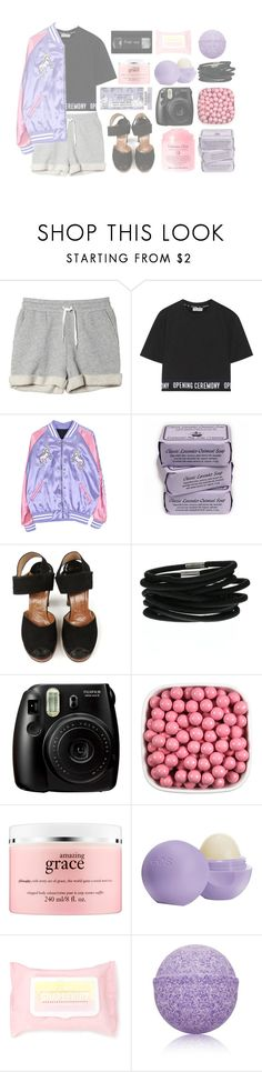 """""""drinking fast and then we talk slow, come over and start up a conversation with just me"""" by secrets-kisses-lies-xo on Polyvore featuring Monki, Opening Ceremony, Fujifilm, Shay, philosophy, Eos, Forever 21, Advanced Body Care by ME Bath and charsafashionita"""