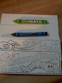 Decorate Your Own Bookmark- Great Goodie Bag Item!