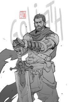 Goliath, Hicham Habchi on ArtStation at https://www.artstation.com/artwork/n2514