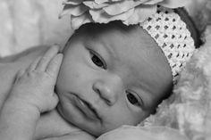 Close up photo newborn