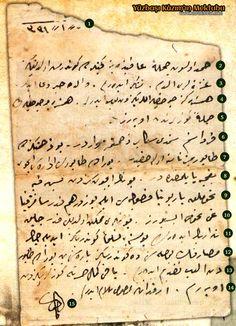 yuzbasikazimmektub3- 1.1331 (2) Hamdolsun cümleten afiyetteyiz. Geçenlerde göndermiş olduğunuz (3) gazeteleri aldım. Teşekkür ederim. Valide hayır dua eder. (4) Hemşireniz, çocuklar ellerinizden öperler. Hemşire ve çocukların (5) cümleten gözlerinizden öperiz. Calligraphy Letters, My Books, Ottoman, Writing, Education, History, My Love, Reading, Islam