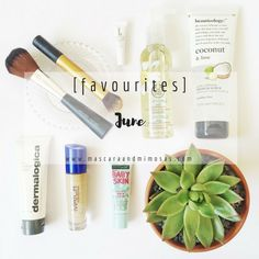 [favourites] : June - For All Things Lovely, Dermalogica, Baby Skin, Rimmel, Body Care, Coconut, Make Up, Skin Care, Blog