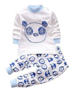 Cartoon newborns pajamas