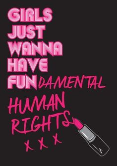 Girls Just Wanna Have Fundamental Human Rights.<br/> <br/> Feminism (noun)<br/> The advocacy of women's rights on the ground of the equality of the sexes Feminist Quotes, Feminist Art, Feminist Icons, Intersectional Feminism, Equal Rights, Women's Rights, Patriarchy, Girls Be Like, Women Empowerment
