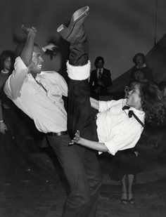 Ron Galella Disco NYC: Sterling St. Jacques and Bianca Jagger at Elaine's