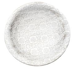 This White Metal Bowl, £10 will make the perfect centre piece for any Moroccan Big night in!