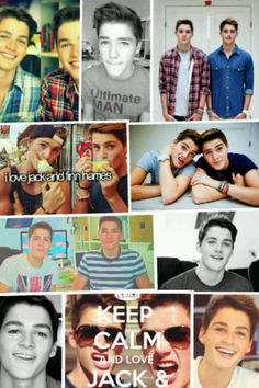 my loves Jack and Finn Harries <3
