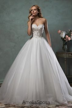 Amelia Sposa wedding gown designer. Beautiful dresses!!