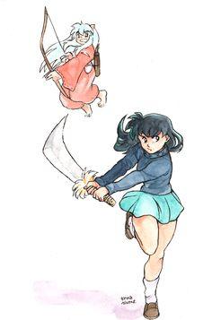 Kagome + Inuyasha