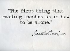 How to Be Alone - Jonathan Franzen