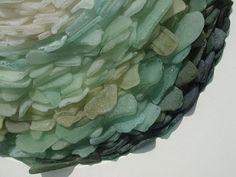 Seaglass sculpture - simply stunning!