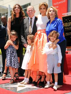 Jennifer Lopez & Her Hollywood Stars