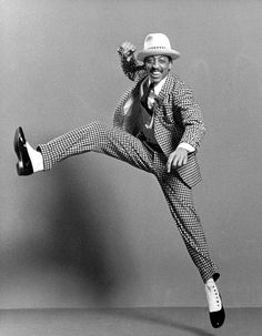 "Gregory Hines.  I once bumped into him at a dance competition and he told me ""Keep tapping kid"""