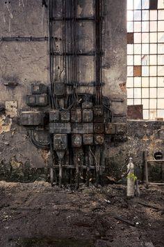 Opuszczona papiernia w Pabianicach