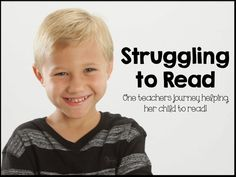 Read about my journey getting my son help with learning to read.  You have these kids in your class - no phonemic awareness, can't follow directions, things just don't stick.