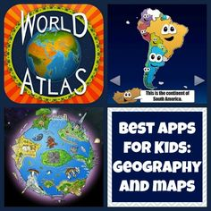 Great apps (for kids) to learn about geography & maps!