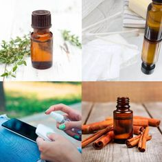 Top 4 Antibacterial Essential Oils by @draxe