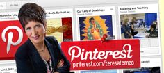 JOIN TERESA ON PINTEREST!  -  Did you know that Teresa Tomeo is now on Pinterest? Come see and share images on Teresa's pinboards dedicated to Catholic siprituality, Our Lady, travel, media awareness, and much more, here. On Wednesday, January 22, 2014, Teresa will have the honor of covering the 41st March for Life LIVE for EWTN Global Catholic Network. Check out Teresa's newest Pinterest pinboard dedicated to the March for Life!