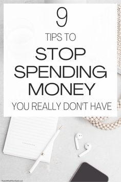 Do you need to stop spending money? If you spend too much, check out my tips for ways to stop spending so much money so you can be debt free and save more!These money management ideas will help you if you want to live a frugal life and have financial freedom. #savemoneytips