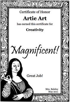 free printable certificates award certificatesfree printable certificatescertificate templateshigh school artteaching