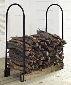 Adjustable Firewood Storage Rack