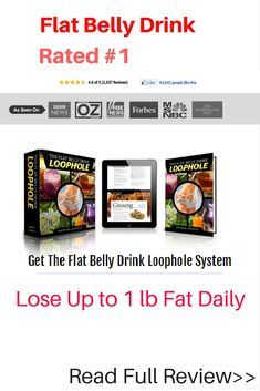 This drink is magical. Works great to melt belly fat. Flat Belly Drink Loophole is a great way to lose stubborn fat.