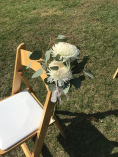 Beams, Burlap, Chair, Floral, Wedding, Furniture, Home Decor, Valentines Day Weddings, Decoration Home