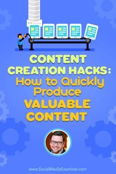 Content Creation Hacks: How to Quickly Produce Valuable Content #WorkAtHome