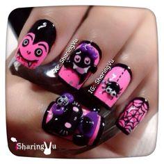 Halloween by sharingvu  #nail #nails #nailart
