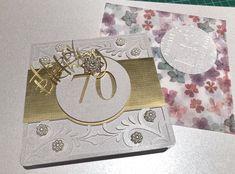#birthdaycard #70thbirthday #femalebirthday #blingbirthdaycard 70th Birthday, Birthday Cards, Bling, Phone, Bday Cards, Jewel, Telephone, 70 Birthday, Birthday Greetings
