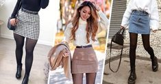 15 Saludables y deliciosas bebidas que te quitarán la sed Two Color Hair, Turtleneck Shirt, Corduroy Skirt, Long Boots, In Pantyhose, Color Negra, Skirt Outfits, Looks Great, Long Sleeve Tops