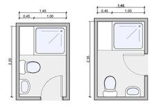 floor plans for small shower rooms - Google Search