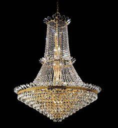 Prearo crystal chandelier QUEEN/120/24K in sale by Topdomus su eBid.net Italia
