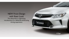 Toyota All New Camry type G - Front look - The Future Sedan - Toyota Camry, Bogor, News, Exterior, Future, Type, Future Tense, Outdoors
